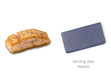 Mydietanalysis what 39 s a serving size for Serving size of fish
